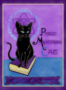 Proud Mysterious Cat